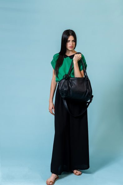 basket bag black